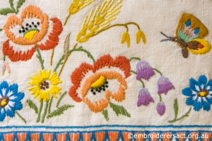 Detail 1 of Vintage Tea Cosy in the Collection of Jillian Bath