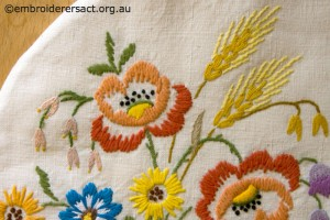 Detail 2 from Vintage Tea Cosy in the Collection of Jillian Bath