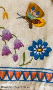 Detail 3 from Vintage Tea Cosy in the Collection of Jillian Bath
