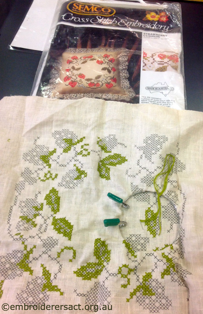 vintage Semco embroidery | Embroiderers' Guild ACT
