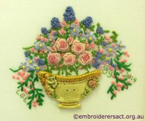 Vase of Flowers by Lara Espeland