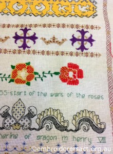 Detail of Milennium Sampler by