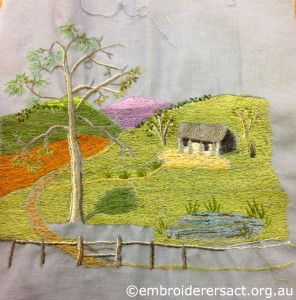 Landscape in Progress by Jenny