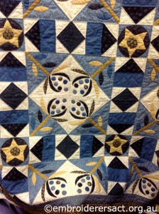 Quilt in Progress by Dee Glenn