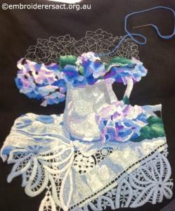 Wool Embroidery by Gail Haidon