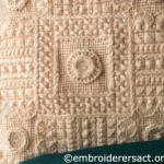 Detail of Aran Cushion
