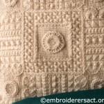 Detail of Aran Cushion