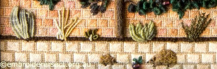 Stitched hedgehog
