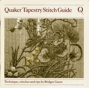 Cover page of Quakers Tapestry Stitch Guide