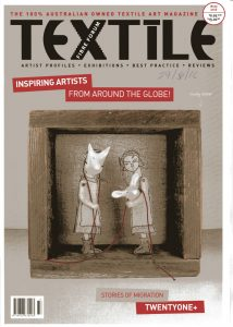Cover page of Textile Fibre Forum
