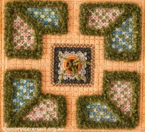 Central Square of Summer Parterre by  Marjorie Gilby