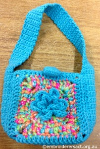 Crocheted Bag 3 by Irene Burton