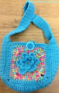 Crocheted Bag2 by Irene Burton