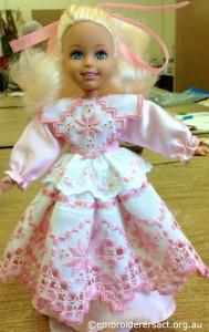 Hardanger Doll by Irene Burton