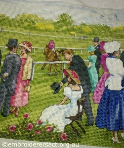 Races x stitch 4 by Sharon Burrell