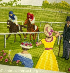 Races x stitch 5 by Sharon Burrell