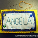 Stitched Name tag