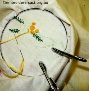 Stitchery 2 by Tina Korda