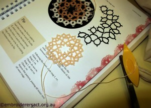 Tatting by Sue McLean