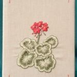 Geranium Diary Cover