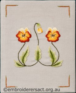 Two Violas Diary Cover by Marjorie Gilby