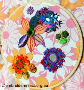 Contemporary Embroidery by Jacinta Nelligan