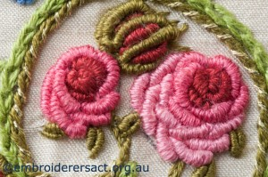 Detail 7 of Flower Garden Diary Cover by Marjorie Gilby
