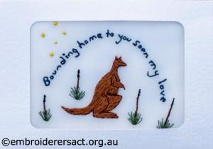 2014 Creative Challenge Postcard by Christine Bailey