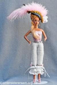 Layer 1 of Marie Antoinette Doll by Irene Burton