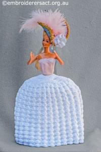 Layer 2 of Marie Antoinette Doll by Irene Burton