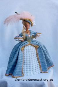 Marie Antoinette Doll by Irene Burton