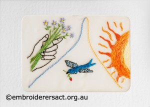 2014 Creative Challenge Postcard by Agnes Sieberras