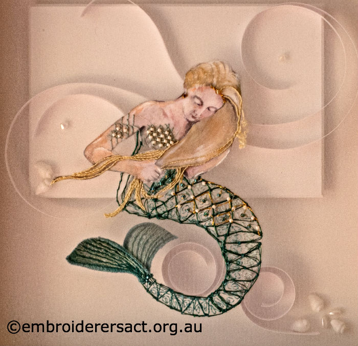 Embroidered Mermaid