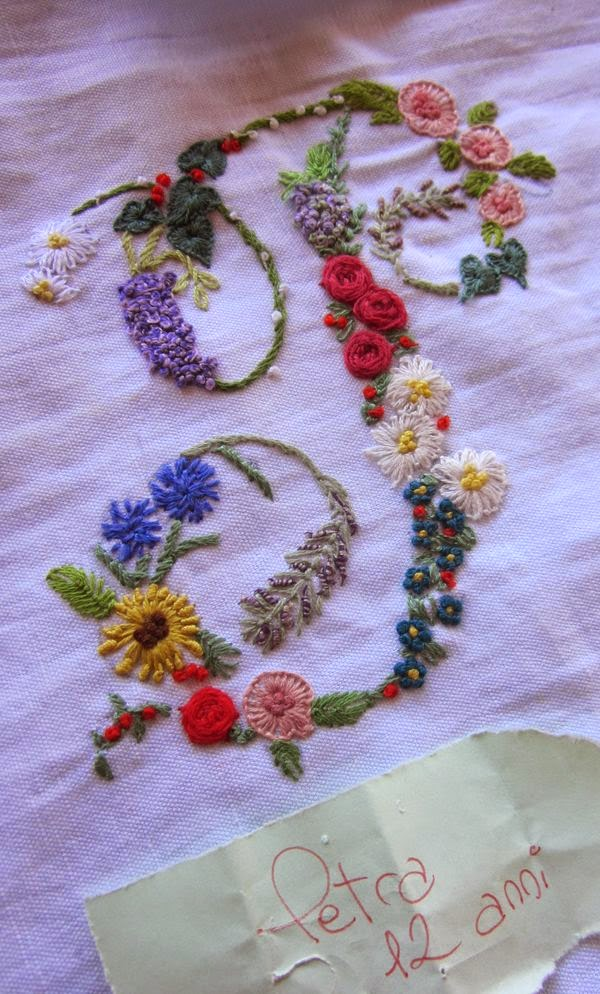 Embroidered wisteria arch embroiderers guild act
