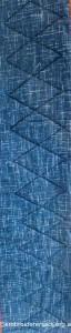 Detail 15 of Sashiko Sampler Quilt by Jennifer Zanetti