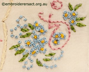 Detail 2 of 2014 Creative Challenge Postcard by Dorothy Rudling