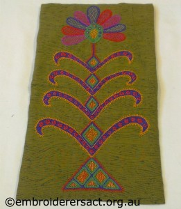 Canvaswork stitched by Judy Barton Browne