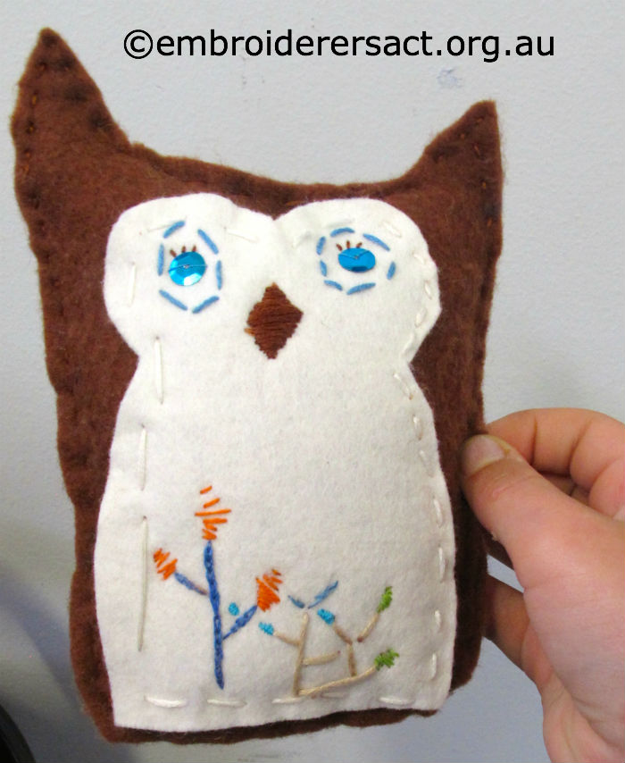 Young Stitchers embroidery