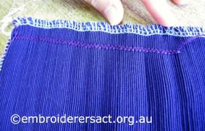 Ella Stitching 2 Feb 2015