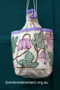 Detail 2 of Jacobean Bag by Margaret Thompson