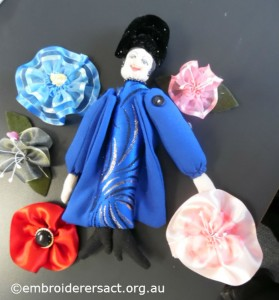 Doll and brooches1 by Shona Phillips