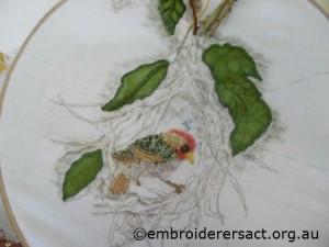 Nesting Weaver 1 by Jillian Bath