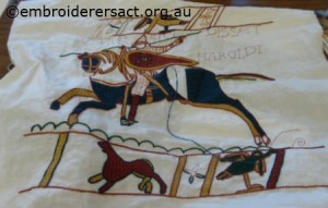 Bayeux Tapestry panel2 by Jenny Balderson