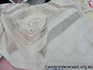 Hardanger cloth by Brenda Phillips