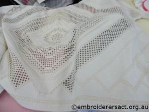 Hardanger cloth by Brenda Phillips