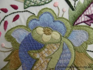 Jacobean work 4 by Pam Hynd