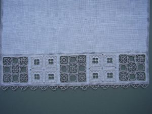 Example of the classes Byzantine Lefkara embroidery