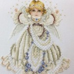 Angel Beaded and X-stitched