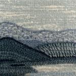 Brindabellas stitched postcard by Jillian Farrer