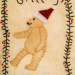 Christmas Bear stitchery